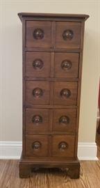 Cute 5 drawer storage unit