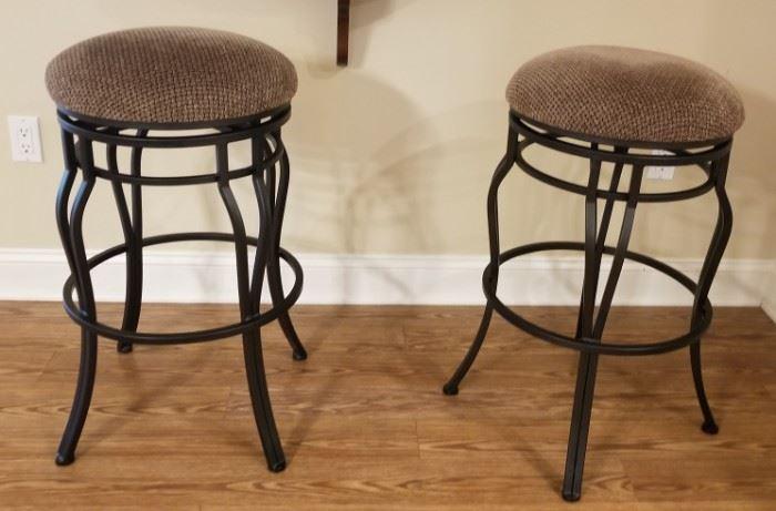 "Like new swivel bar stools, 30"" high"
