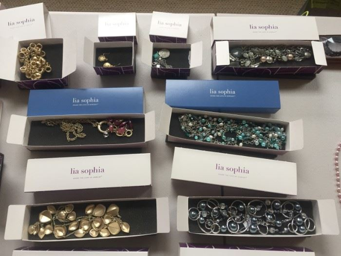 New in the box Lia Sophia jewelry