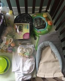 New and very gently used baby items!