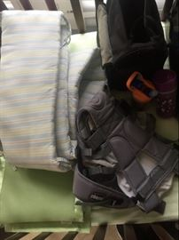 Chicco baby carrier and other baby items