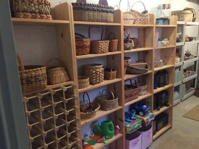 Beautiful high quality baskets, any shape and size you need!