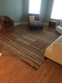 Area rug in excellent condition