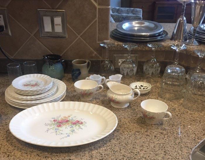 Knowles vintage china