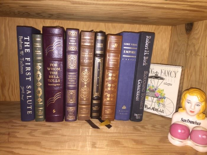 Franklin Library and Easton Press collectors edition books