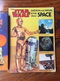 Vintage Star Wars children's books