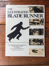 The Illustrated Blade Runner book in perfect condition!
