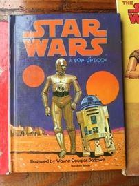 Vintage Star Wars children's book