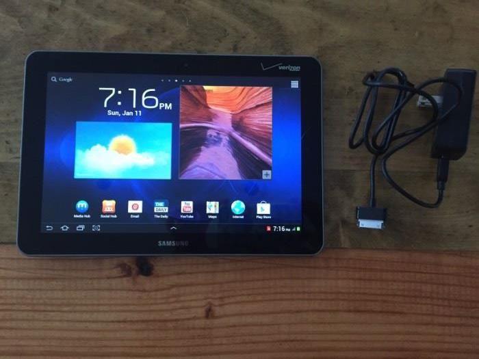 Samsung Galaxy Tab SCH-I905 32GB, Wi-Fi + 4G (Verizon), 10.1in, several available