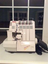 Differential Speedylock sewing machine, model 7340