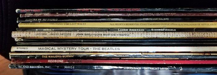 Some select vintage LP's