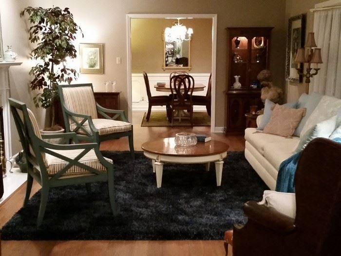 Welcome. When entering this lovely home from the foyer you will enjoy the spacious layout of this nicely furnished home.  Lets get started....