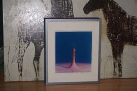 # 3 OF THE HAROLD EDGERTON COLLECTION MILK DROP CORONET 1957 MUESUM QUALITY FRAMMING