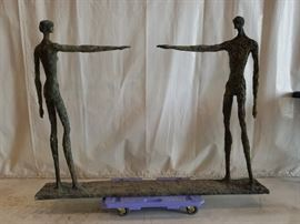 Amazing  Lindsay Daen  Bronze Sculpture  4 Feet 6 inches wide 3 Feet 7 inches high More pictures towards the end of all the pictures shown.