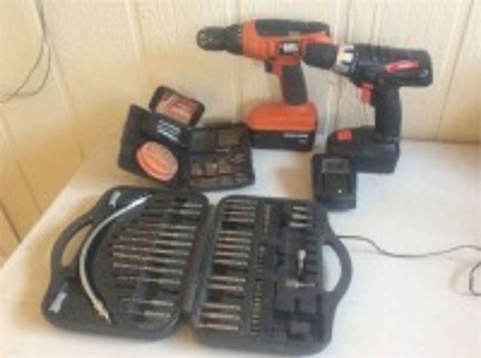 Cordless Drills and Bits