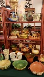American Art Pottery  ... Roseville, Weller and Hull