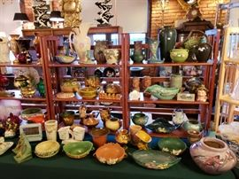Overviews of pottery selection
