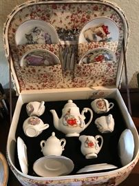 Beatrice Potter Tea Set- Original Fitted Box