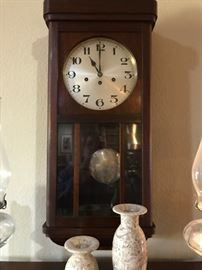 Old Clock in Perfect Working Order- Great Chimes