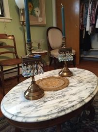 Italian Marble Top  Table