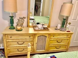 1950's 60's French Provencial bedroom dresser