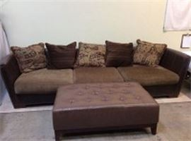 Couch w/Ottoman