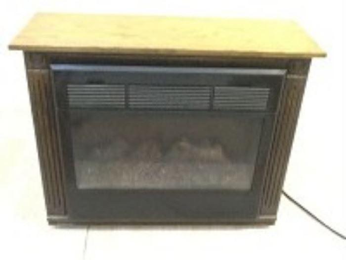Heat Surge Electric Fireplace