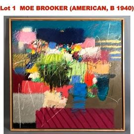 Lot 1 MOE BROOKER AMERICAN, B 1940