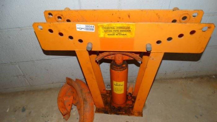 12 ton pipe bender