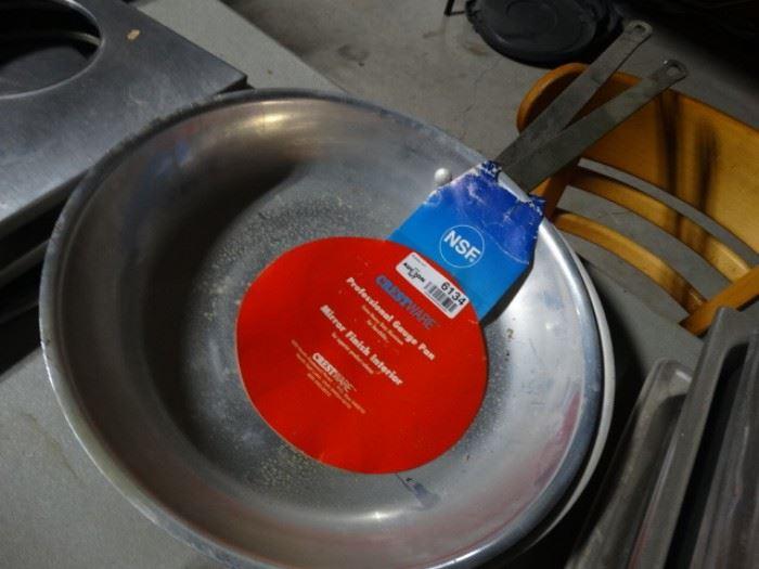 2 crestware professional gauge pans.
