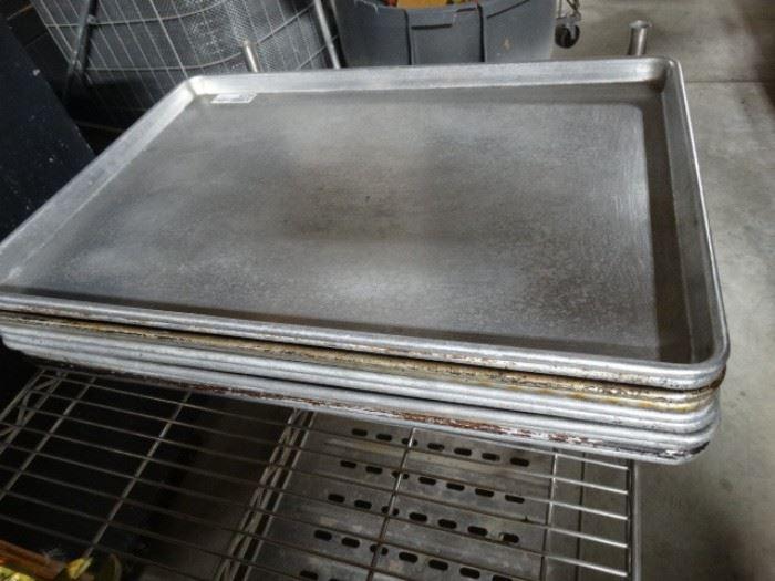 10 sheet pans.
