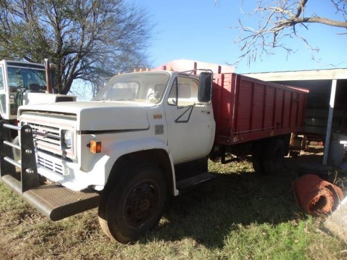 1 1978 Chevy 2 ton grain truck