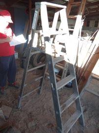 6 wooden ladder