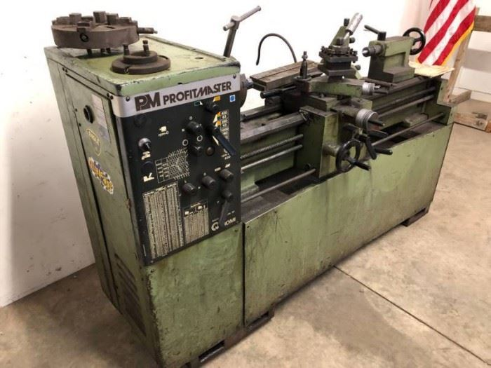 13 Romi Profitmaster Metal Lathe with attatchment ....