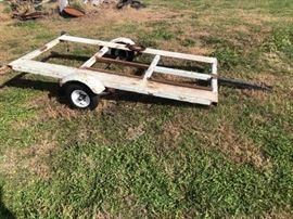 4x6 utility or welding trailer 2 ball New tires ...