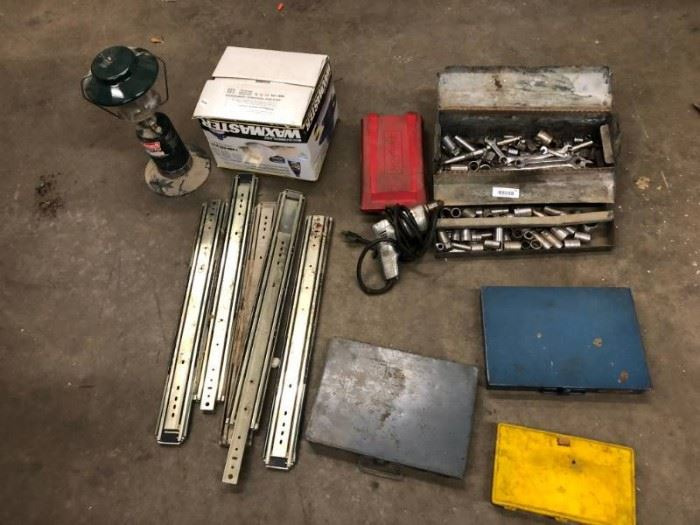 Lot of tools SnapOn SK Sockets wrenches Drwer Sli ...