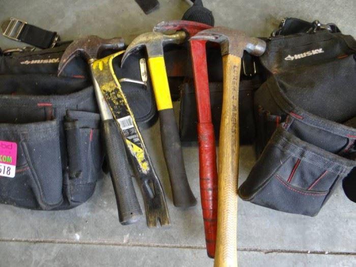 Husky Tool Belt with Tools..