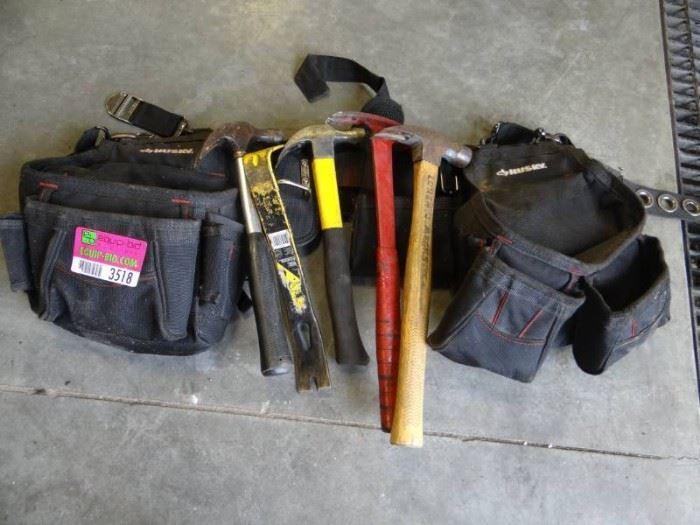 Husky Tool Belt with Tools