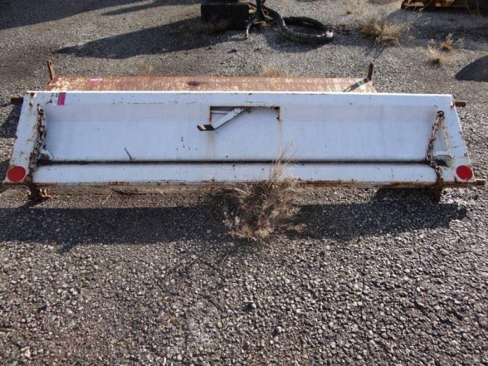 dump trunk bed Tailgate