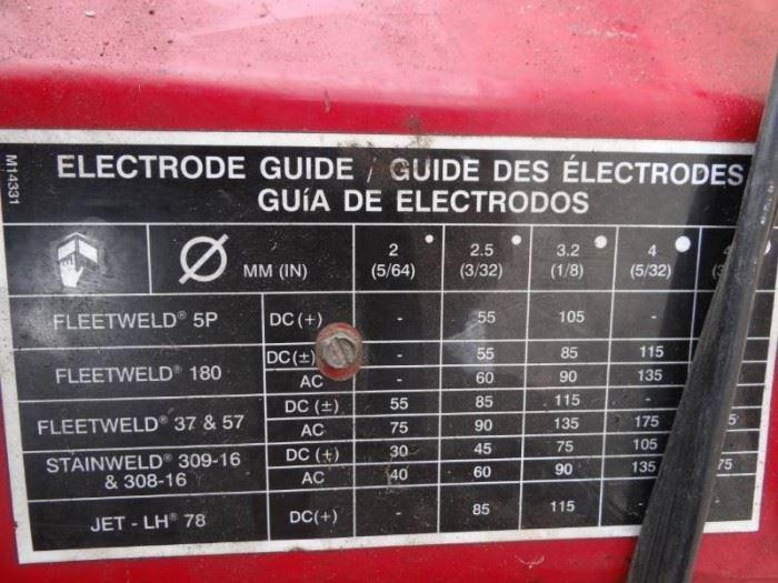 lincoln ACDC arc welder.