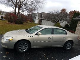 One owner 2008 Buick Lucerne CXL 4 door               66,000 miles - VIN 1G4HD57208U173030                               Cashiers check - Credit Card (3% charge) or cash