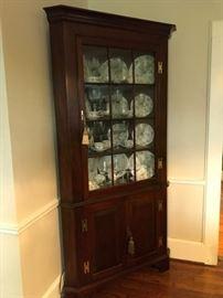 Henkell & Harris corner cabinet