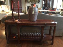 Henkel Harrissofa sofa table with inlay