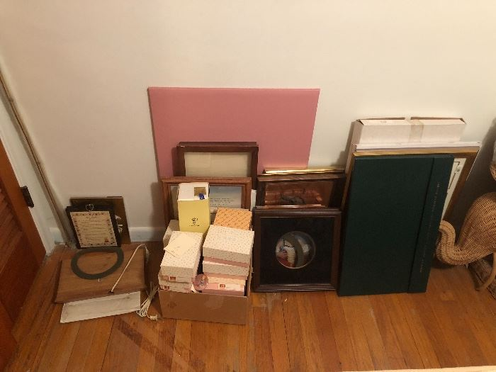JUST SOME OF THE HALLMARK INVENTORY NEW IN THE BOXES