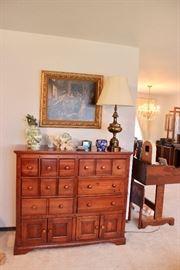 Custom Antique Dresser
