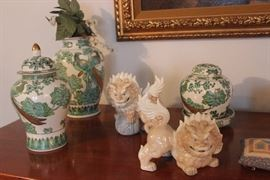 Ginger Jars and Lions
