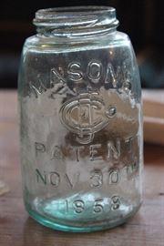 Antique Mason Jar