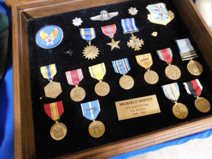 US Army Air Corps Campaign Ribbons