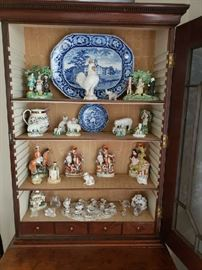 cabinet interior Staffordshire collection