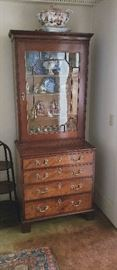 Mahogany Chippendale cabinet